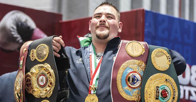 Andy Ruiz, primer Campeón Mundial Mexicano de peso completo