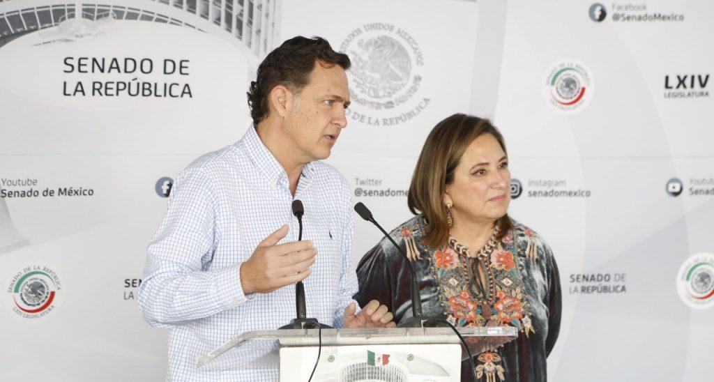 """""""Se debe repetir el proceso y punto"""": senadores del PAN"""