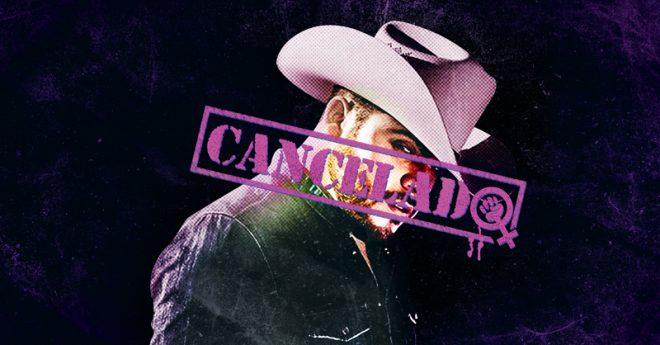 La cancelación del concierto de Gerardo Ortiz es congruente con las alertas de género