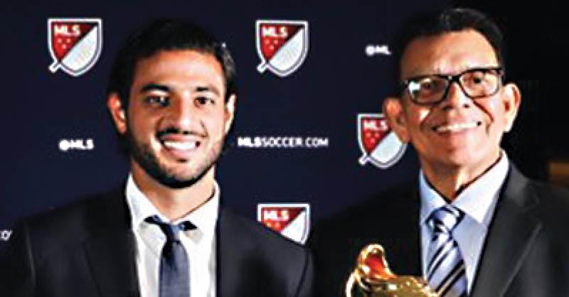 Carlos Vela fue reconocido como el Jugador Más Valioso de 2019 de la MLS