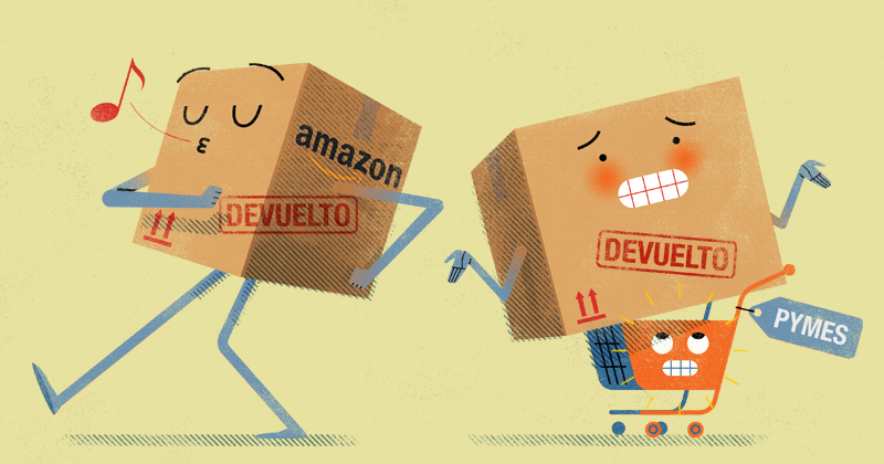Las devoluciones por compras online afectan a las Pymes