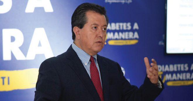 Guillermo González, director del Instituto Jalisciense de Investigación en Diabetes y Obesidad.