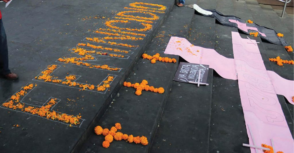 feminicidios Chiapas