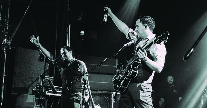 La banda de rock and roll y swing salvaje será entrevistada