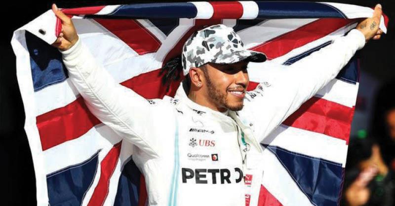 Lewis Hamilton se proclamó campeón de la Fórmula 1