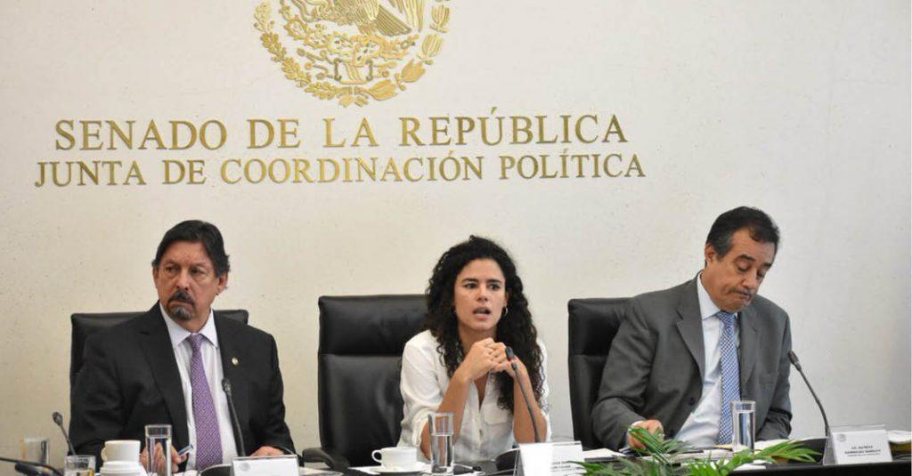 Luisa María Alcalde defendió el program Jóvenes Construyendo el Futuro