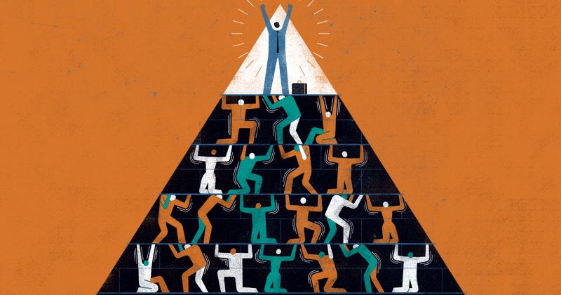 miles de personas han sido víctimas del Network Marketing y de otros negocios piramidales