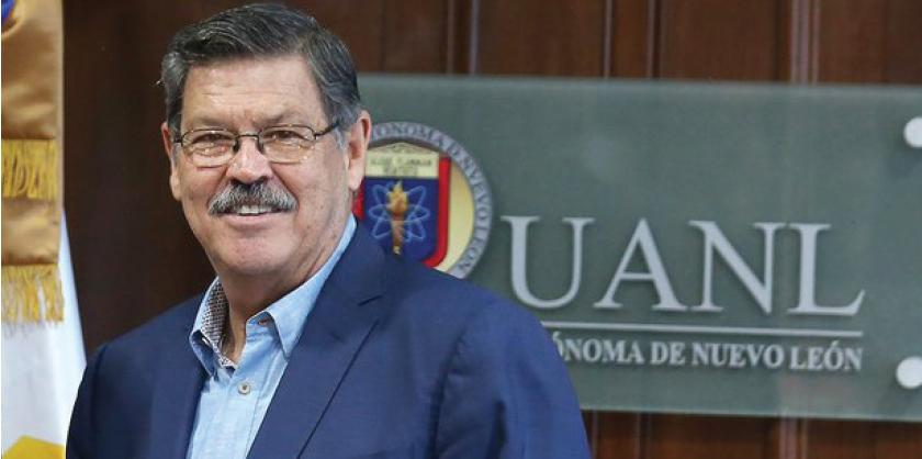 Rogelio Garza Rivera realizó ajustes en su equipo tras su reelección como rector de la UANL.