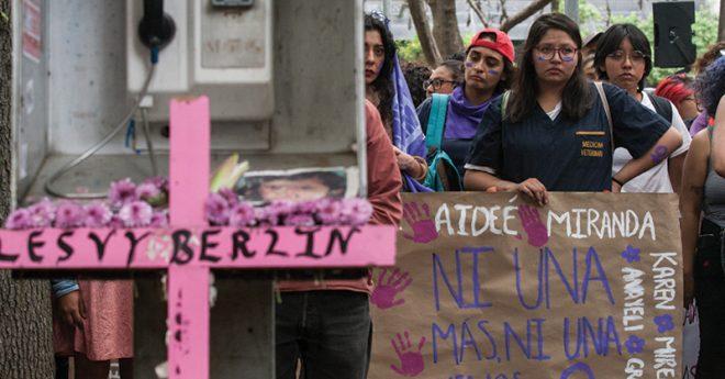 Durante el 2019 alumnos de diversas universidades del país se manifestaron para exigir seguridad y un alto a la violencia de género