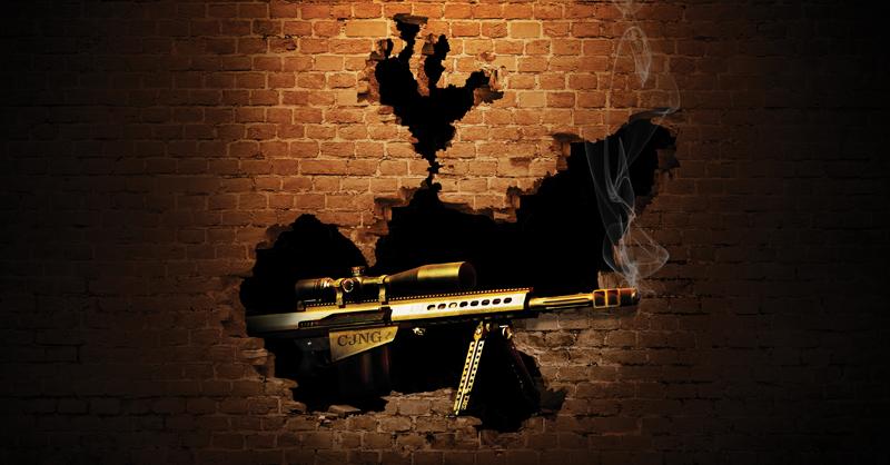 El fusil Barret calibre .50, tiene una presencia importante en Jalisco