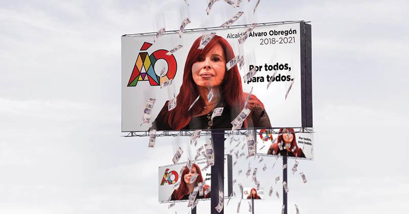 La alcaldía Álvaro Obregón desembolsó 10 millones de pesos en imagen