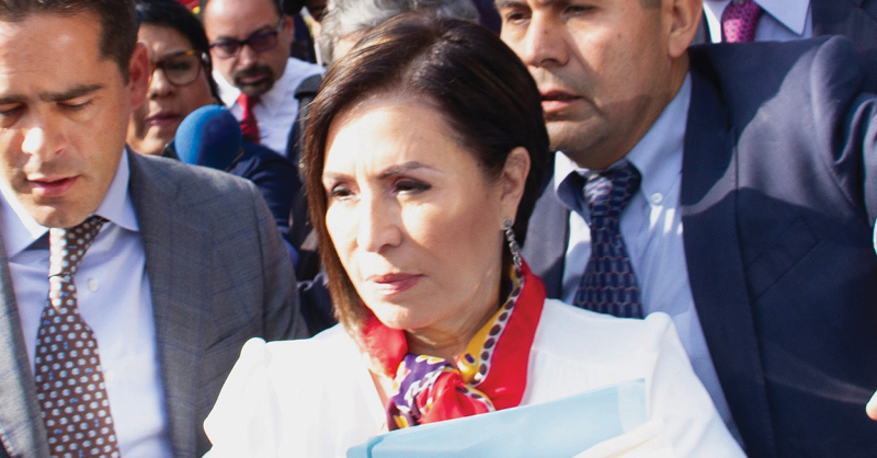 Rosario Robles asegura que su experiencia serviría a México en este difícil momento