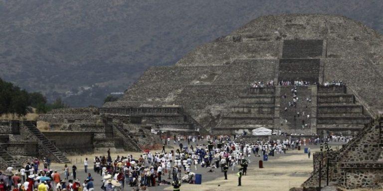 Empleados ebrios causan daños a Teotihuacán