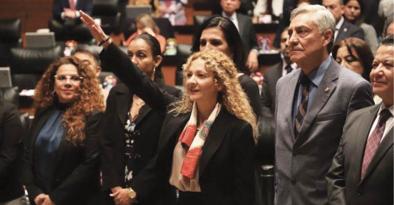 Con 74 votos a favor, Mara Gómez Pérez tomó protesta como nueva titular de la CEAV