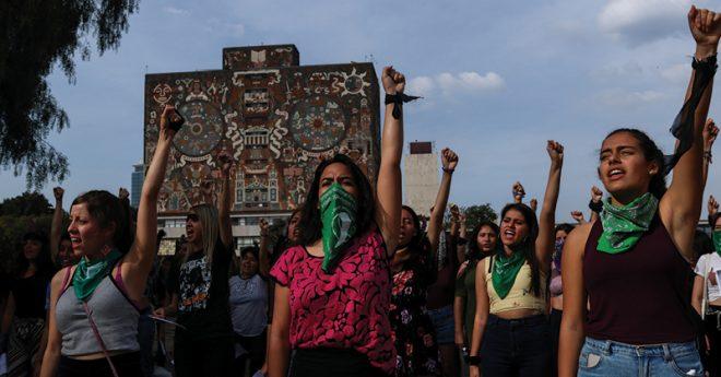 El caso Lesvy es uno de los que mayores protestas desataron al interior de la UNAM.