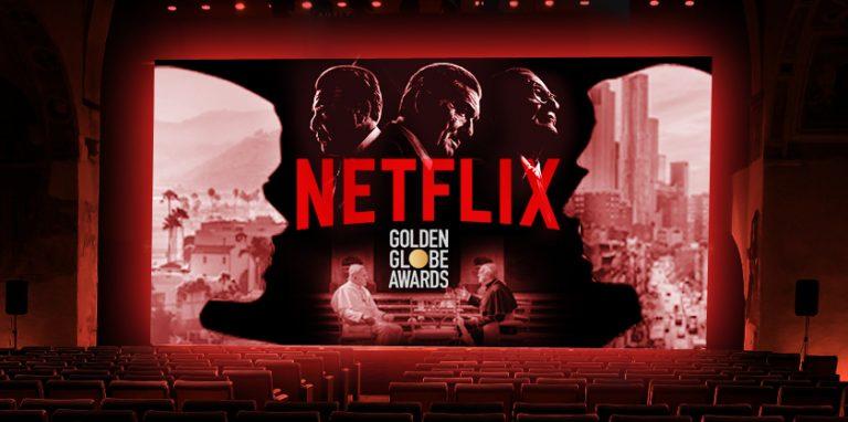 Netflix ganando terreno en los Globos de Oro