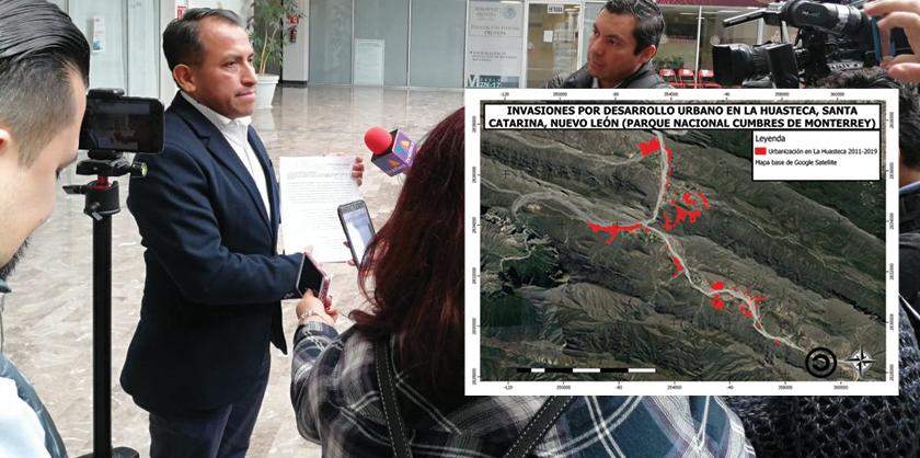 La Profepa tiene una denuncia en defensa del parque ecológico La Huasteca
