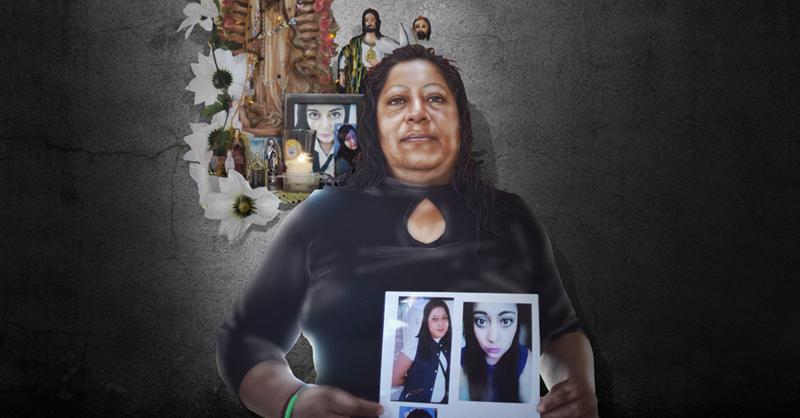 María de Lourdes está dispuesta a dar con el paradero de su hija desaparecida