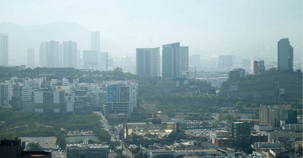 La Zona Metropolitana de Monterrey padece constantemente contingencias ambientales por calidad del aire