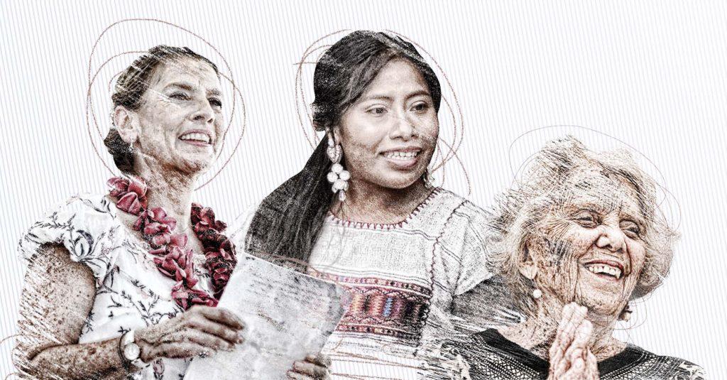 Elena Poniatowska, Elisa Carrillo, Yalitza Aparicio, Alejandra Frausto y Beatriz Gutiérrez Müller son parte de las mujeres que representarán este nuevo año