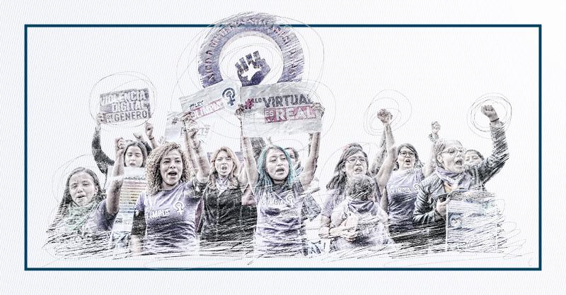 Las mujeres han mostrado su hartazgo hacia la violencia de género