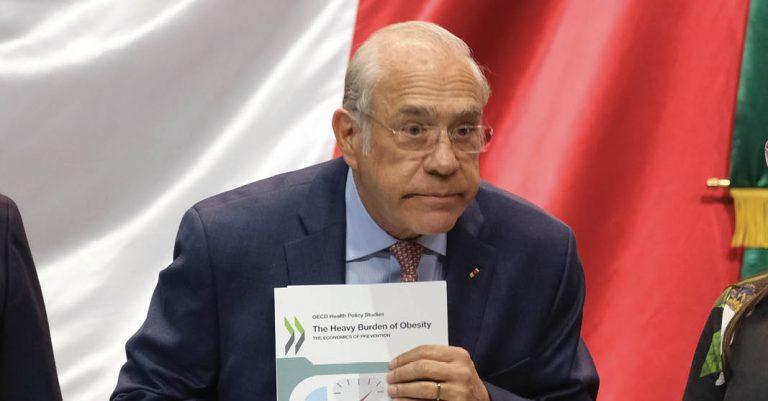 OCDE, José Ángel Gurría Treviño, recomendó una reforma fiscal mucho más amplia