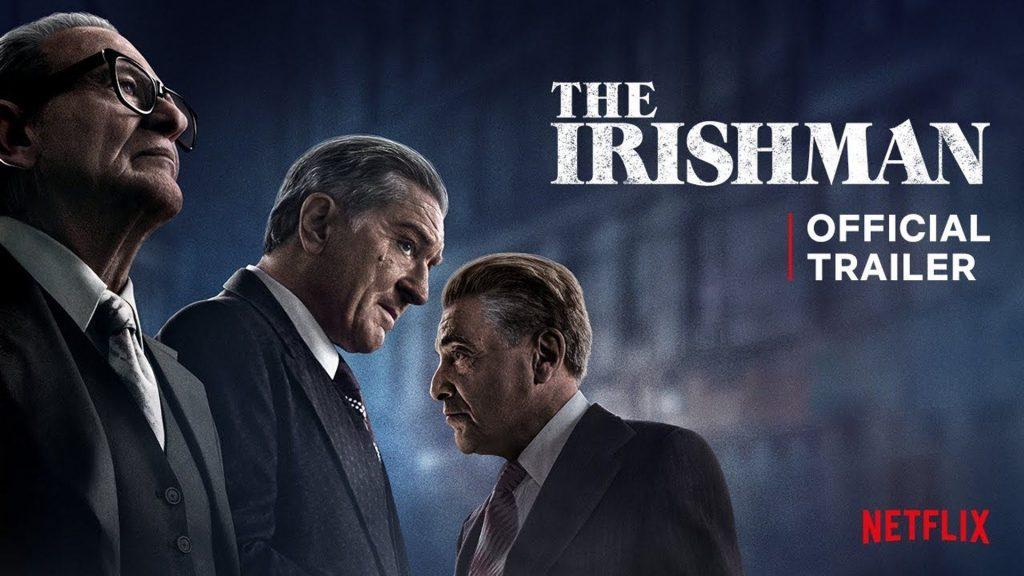 """""""The Irishman"""" es la favorita a ganar en los Globos de Oro"""