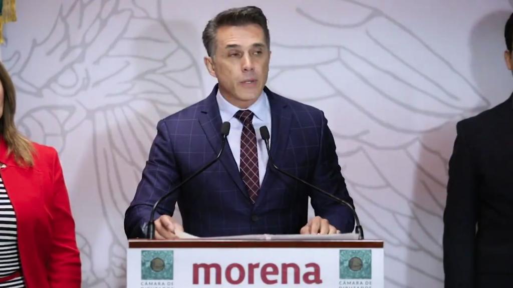Llama Sergio Mayer a respetar la resolución del INE por retiro de candidatura a Macedonio