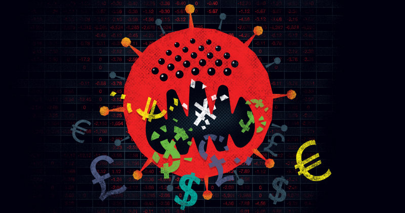 El resfriado por el brote del coronavirus tomó por sorpresa a los mercados