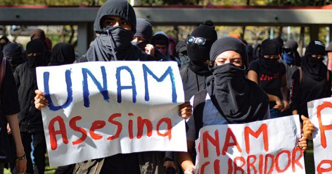 Estudiantes de la UNAM acusan que a pesar de sus denuncias por acoso sexual, muchos de los agresores no han sido expulsados