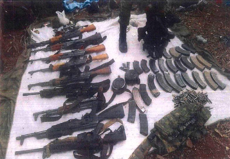 Elementos de la Sedena y GN detienen a 18 y aseguran 30 armas en Guerrero y Michoacán