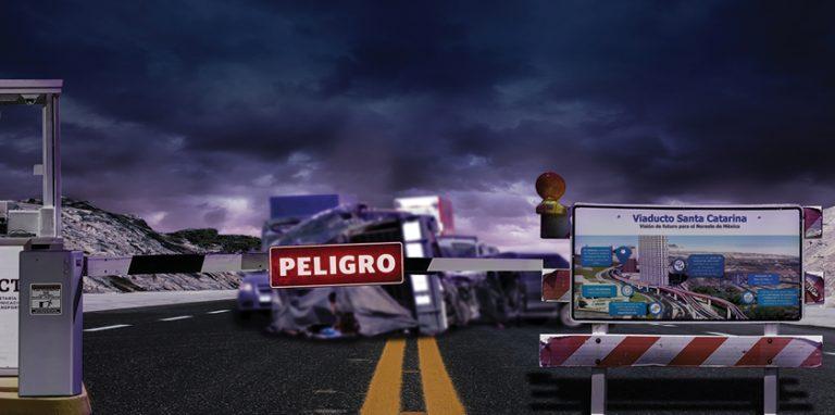 La Autopista Monterrey-Saltillo, que conectará con el Viaducto Urbano Santa Catarina