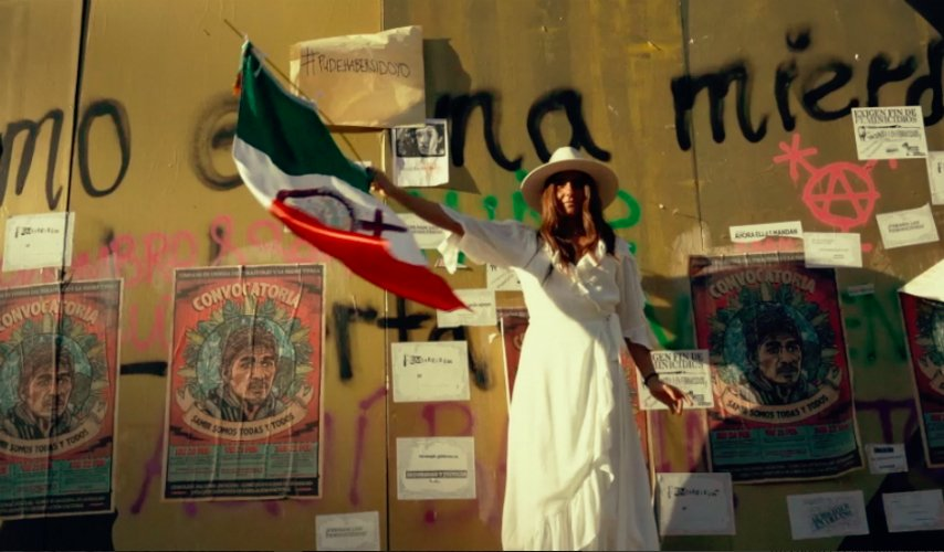 Alexia Neme de Maison Paricuta pide ¡ni una menos! este 8 de marzo