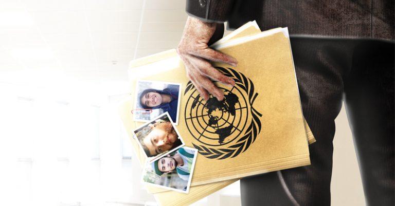 La desaparición de los tres jóvenes estudiantes de cine causó la intervención de la ONU