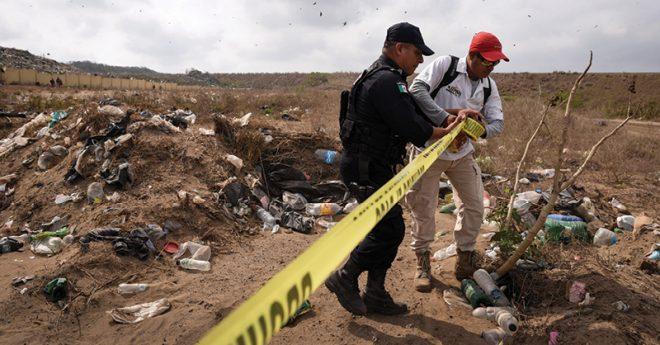 l Colectivo Solecito denunció un predio con posibles fosas en el basurero municipal de Veracruz