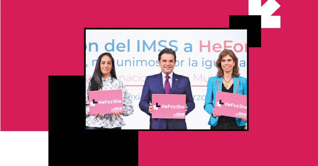 IMSS firmó una serie de acuerdos para ofrecer servicios con igualdad e inclusión