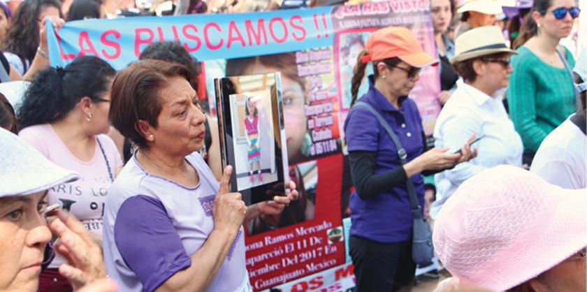 A Irma Gallardo Candelas le sobran razones para protestar y gritar