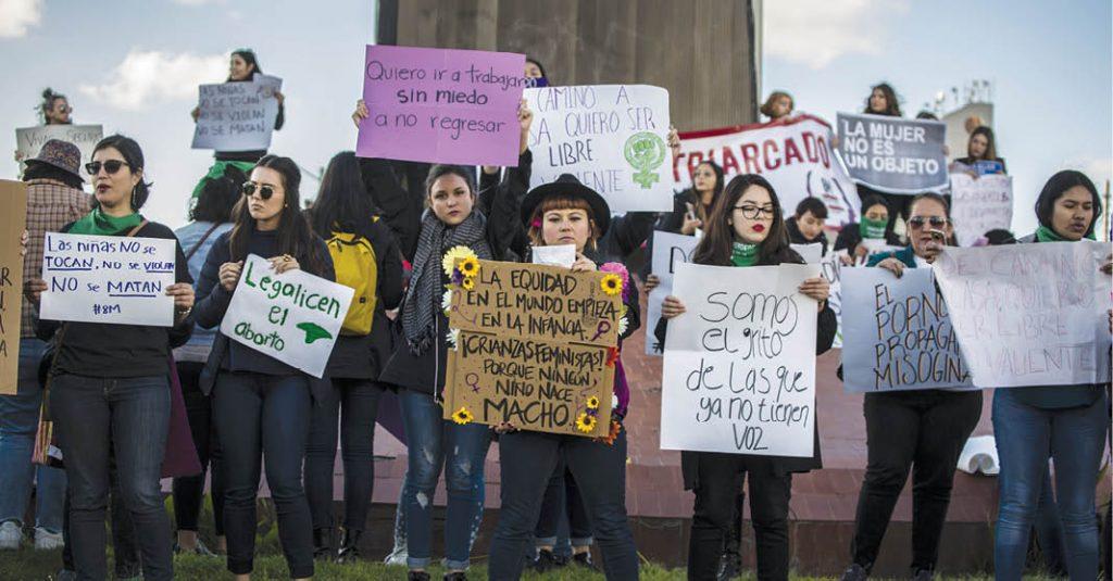Miles de mujeres en el país exigen igualdad, respeto, justicia y seguridad.