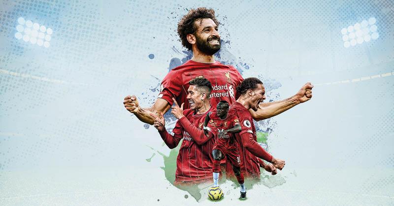 El Liverpool ha marcado una temporada espectacular en la Premier League,
