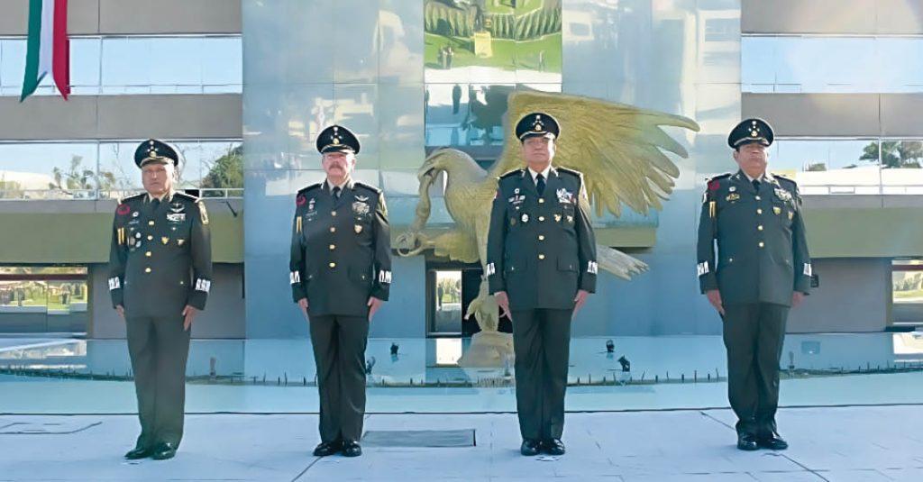 AMLO designó a nuevos funcionarios de la primera plana del Ejército y la Fuerza Aérea Mexicana