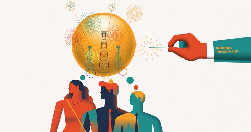 El acuerdo de las naciones petroleras dio un ligero respiro a los mercados financieros
