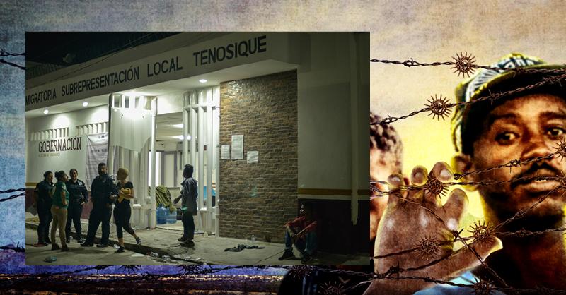 Estaciones y centros de detención migratorios
