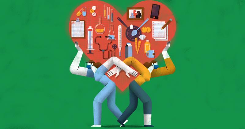 Las empleadas del sector salud que están adscritas a un área COVID y cuidan a uno o más hijos