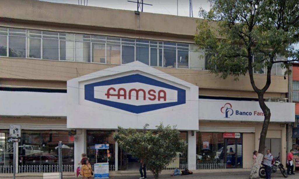 Acciones de Grupo Famsa se desploman; cuestan menos de un peso