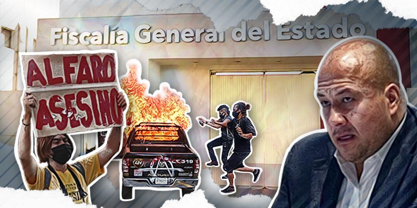 La supuesta autonomía de la Fiscalía de Jalisco es utilizada por el gobernador, Enrique Alfaro
