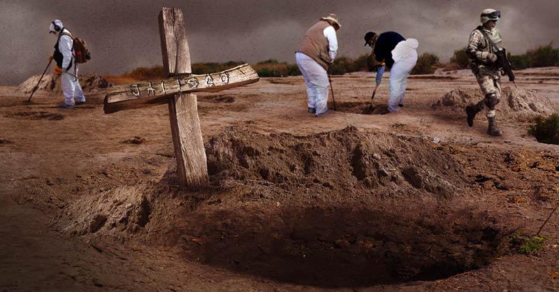 El hallazgo de cadáveres en fosas clandestinas en Jalisco se ha intensificado