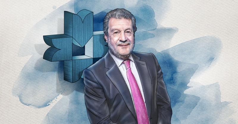 Marcos Martínez Gavica, presidente del Consejo de Administración de la Bolsa Mexicana de Valores (BMV)