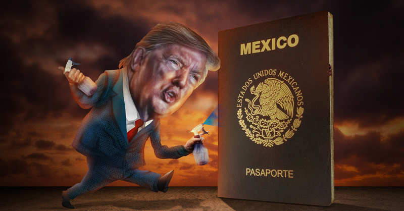 Estados Unidos tiene de nuevo la mira en la frontera con México