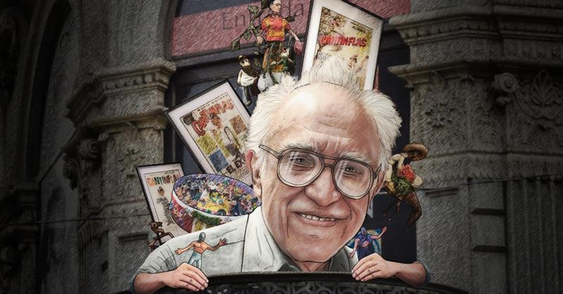 """Carlos Monsiváis (1938-2010), """"Monsi"""", fue sin duda un verdadero amante del arte popular mexicano"""