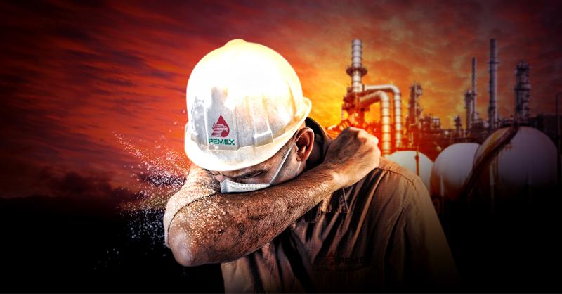 Pemex es la empresa con más trabajadores fallecidos por COVID-19 en el mundo